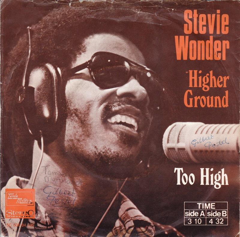 #9° Stevie Wonder - Higher Ground