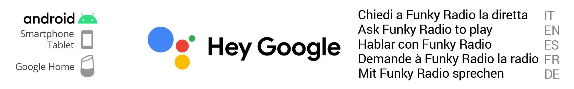 google action - funky radio