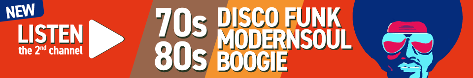 Listen the 2nd channel 70s 80s disco funk modernsoul boogie